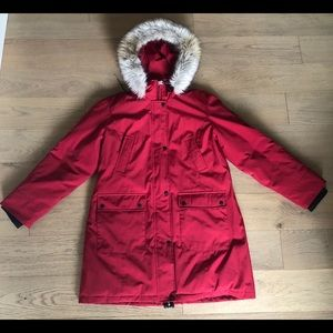 Andrew Marc Red Parka XL